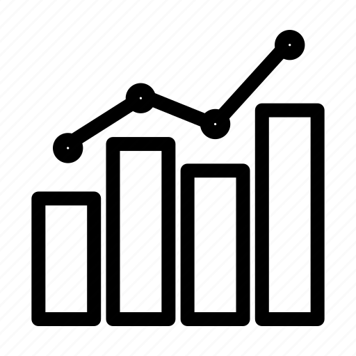 bussines, graph, management, project icon