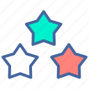 like, online, product, rating, star icon