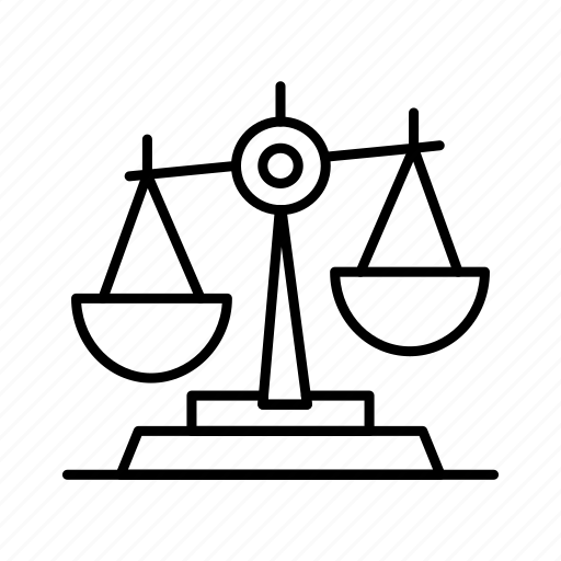 balance, court, judge, justice, law, legal, scale, scales icon
