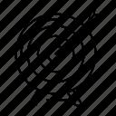 aim, archive, business, goal, mission, success, target icon