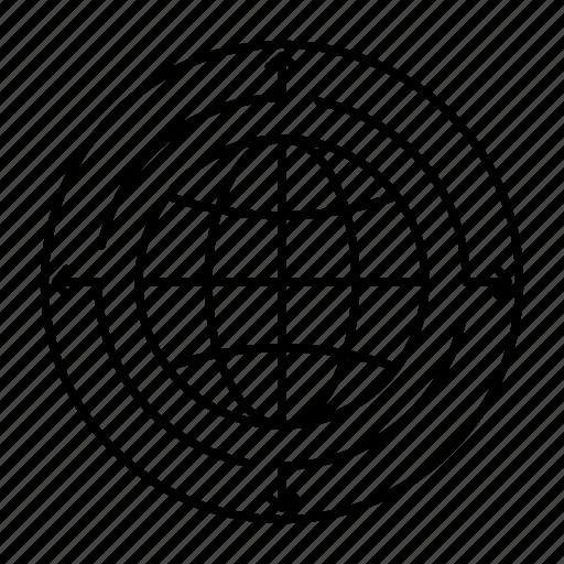 business, communication, connection, global, globe, world icon