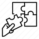 decision, plan, strategy icon