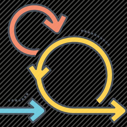 agile, agile development, agile project management icon