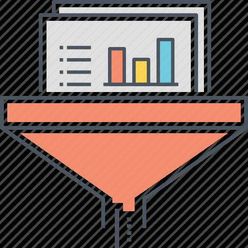 data, data filtering system, filter, filtering, sort, sorting, system icon