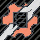 delegate, delegating, task icon