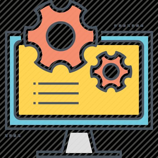administration, coding, development, programming icon