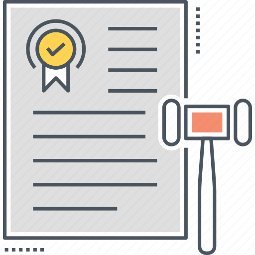 Agreement, Binding, Contract, Document, Legal Icon