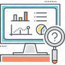 analytics, data, monitoring, performance, project, statistics icon