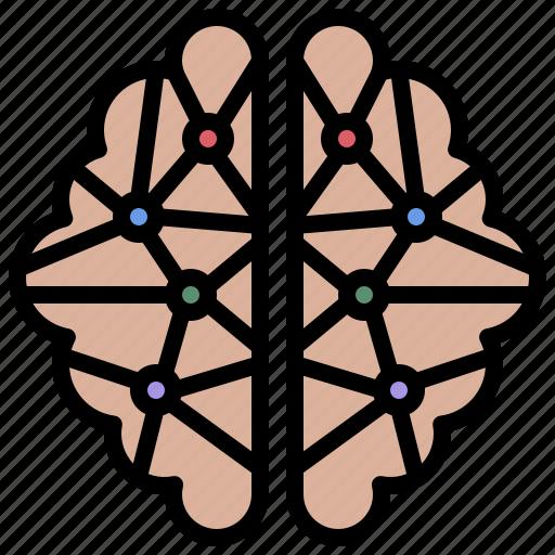 body, brain, brainstorming, human, medical, organ, part icon
