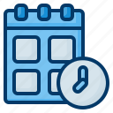 calendar, time, date, schedule, organization, administration, clock