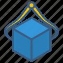 measure, meterk, tools, units icon
