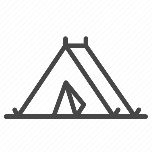accommodation, outdoor, property, room, tent icon