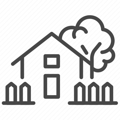 accommodation, home, house, property, real, room icon