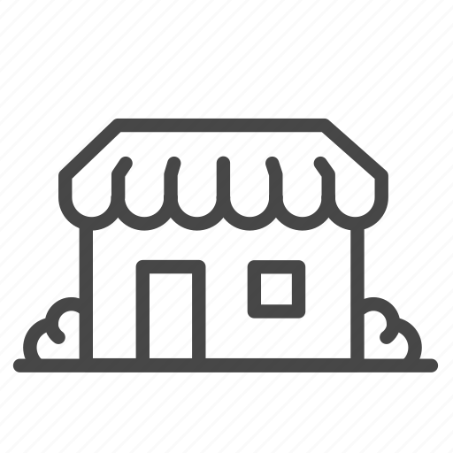 accommodation, building, property, real, room, shop, store icon