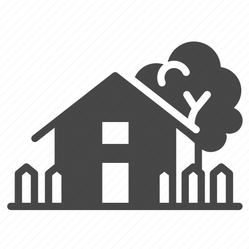 Accommodation, building, estate, home, house, property icon - Download on Iconfinder