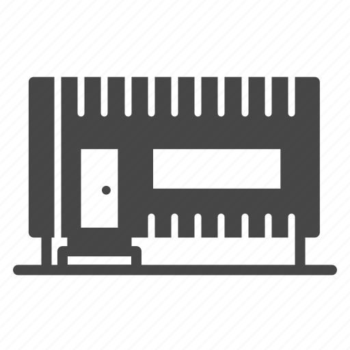 accommodation, building, container, estate, office, property icon