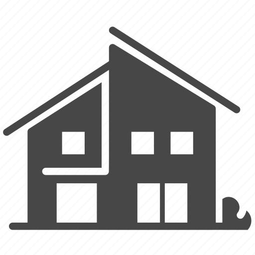 accommodation, architecture, building, estate, home, house, property icon