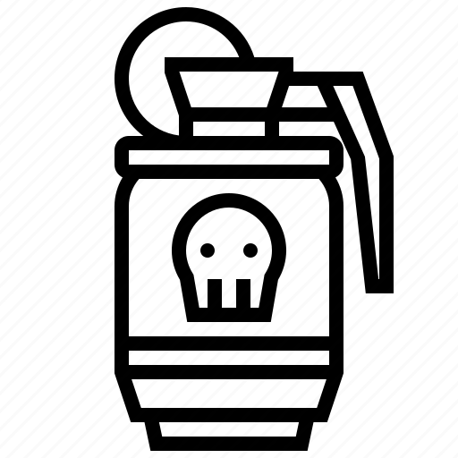 Bomb, grenade, military, war, weapon icon - Download on Iconfinder