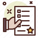 e, poll, vote, agreement, politicslection, hand, document icon