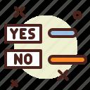 choose, politics, poll, vote icon