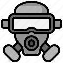 biological, gas, hazard, healthcare, mask, medical, respirator
