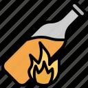 cocktail, guerrilla, incendiary, molotov, terrorism, urban, warfare