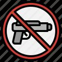 gun, miscellaneous, no, prohibition, signaling, weapons