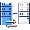 cybersecurity, reverse proxy, reverse proxy icon, server protection icon