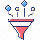 content filtering, content filtering icon, data control, traffic management icon