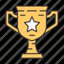 battlegrounds, cup, multiplayer, tournament, trophy, win, winner icon