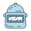 equipment, gear, inventory, safety, soldier, warrior, game icon