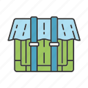 container, equipment, inventory, parcel, save, saving, tool icon