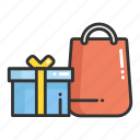 cart, gift, place, shop, shopping, store