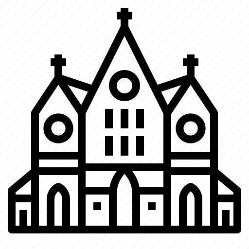 architecture, christian, church, cultures, religion icon