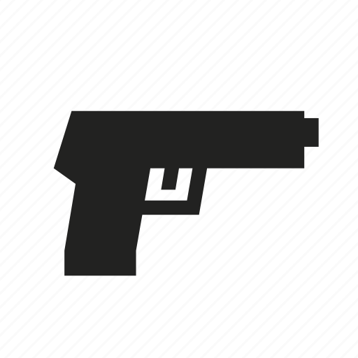 firearm, gun, hand gun, pistol, shoot, weapon icon
