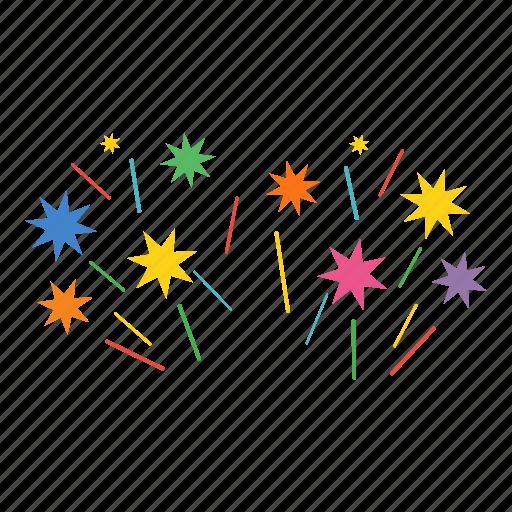 celebrate, celebration, crackers, festival, festive, season icon
