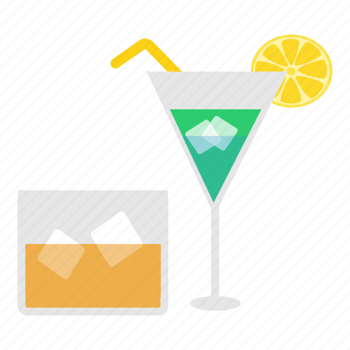 alcohol, bar, cocktail, drink, juice, lounge, vacation icon