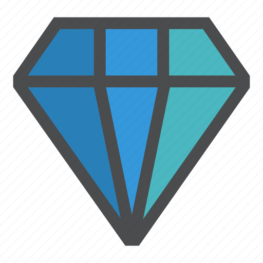 diamond, jewel, jewellery, jewelry, luxury, mine, stone icon
