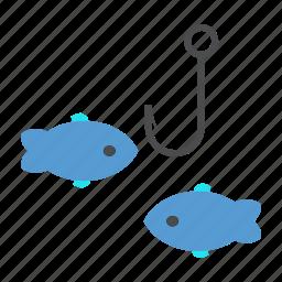 fish, fishery, fishing, pond, zone icon