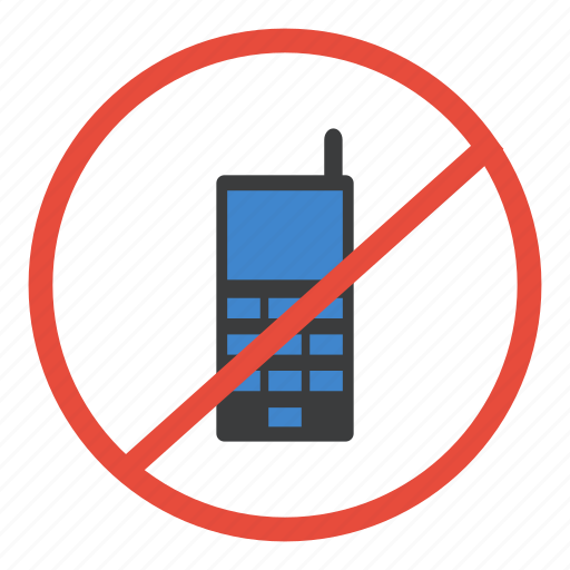 mobile, no, not allowed, phone, prohibited, restricted, warning icon