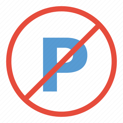 no, not allowed, parking, prohibited, restricted, sign, warning icon