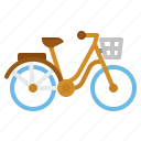 bicycle, bike, cycling, sport, transport icon