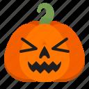 buzz, creepy, emoji, halloween, horror, pumpkin, scary icon