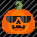cool, creepy, emoji, halloween, horror, pumpkin, scary icon