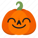 creepy, cute, emoji, halloween, horror, pumpkin, scary icon