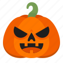 creepy, emoji, evil, halloween, horror, pumpkin, scary
