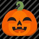creepy, emoji, halloween, horror, lol, pumpkin, scary icon