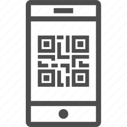 code, mobile, phone, qr, qr code icon
