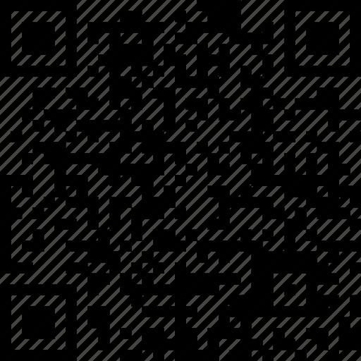 barcode, qr, qr-code, scanner icon