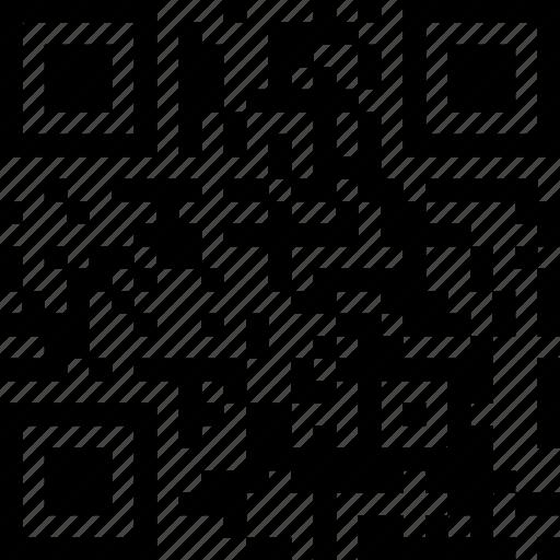 barcode, qr, qr code, trademark icon
